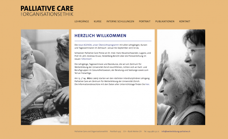Palliative Care und Organisationsethik